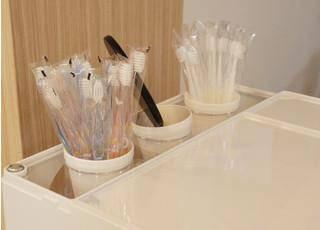 せんげん台くすのき通り歯科 歯ブラシ