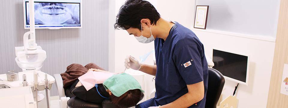 せんげん台くすのき通り歯科 治療