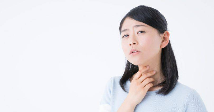 親知らず_喉の痛み
