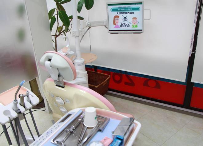 茂木歯科クリニック 診療台