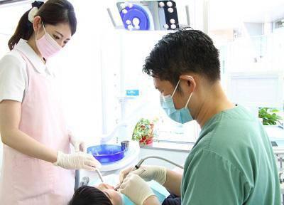 けいびる歯科医院_治療風景