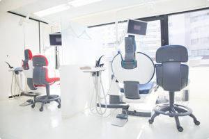 白金しらゆり歯科 診療室