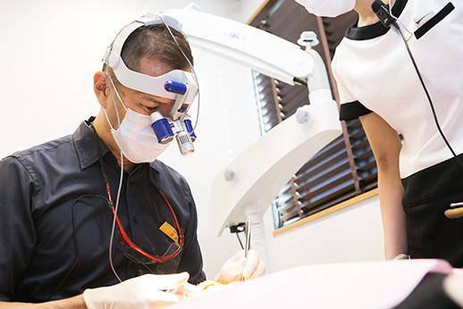 さいとう歯科医院 治療風景