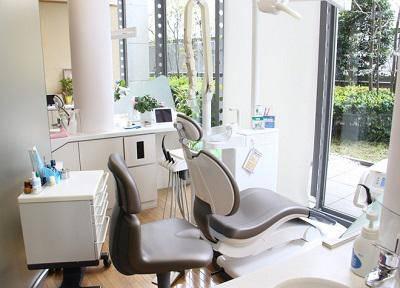 三條歯科みなとみらい診療室_診療台