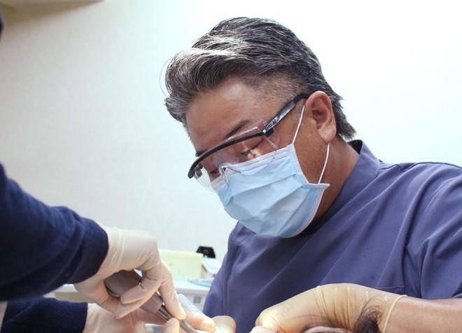 やわら歯科クリニック 治療風景