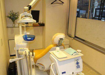 銀座五丁目歯科 診療台