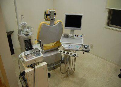 ひらの歯科医院  診療台