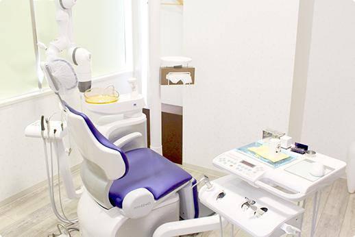 桜木町ヒロ歯科クリニック 診療台