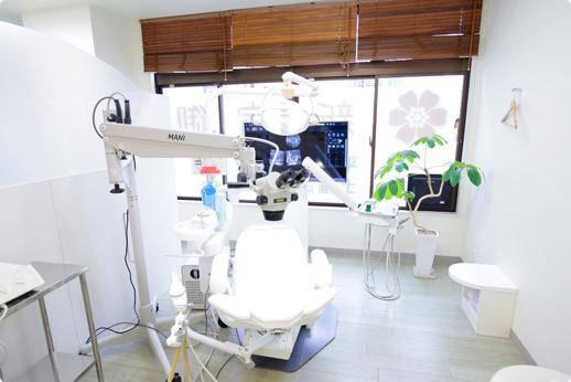 新宿御苑前歯科 診療室