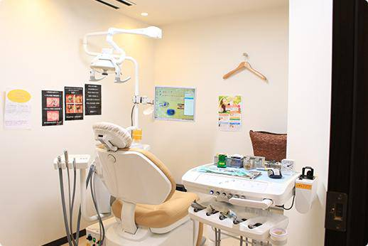 横須賀デンタルオフィス 診療台