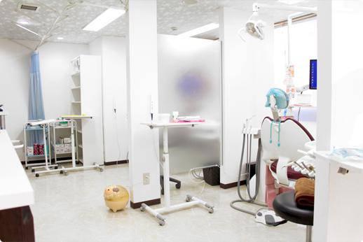 たまうち歯科 診療台
