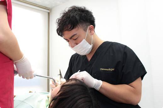 たまうち歯科 治療風景