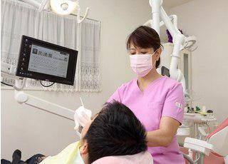 浅間台歯科医院 治療風景