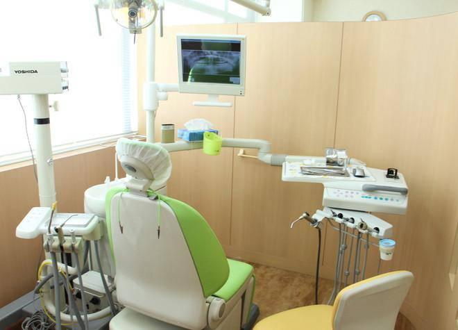 錦糸町駅ビル歯科クリニック 診療台