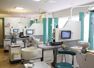 アトレ恵比寿6階歯科_診療室