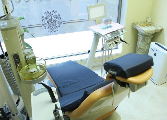 プリーチェデンタルクリニック 診療台