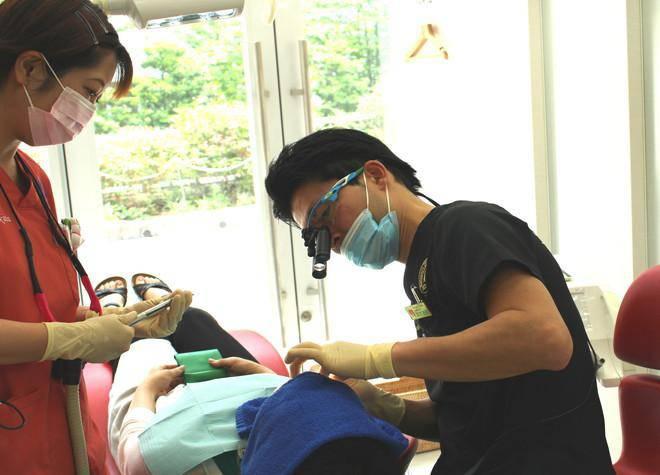 世田谷シティ歯科 治療風景1