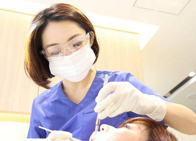 五十嵐歯科室_クリーニング風景