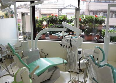 岡部歯科 診療台