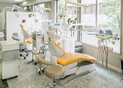 石川歯科クリニック(横浜駅前)診療台