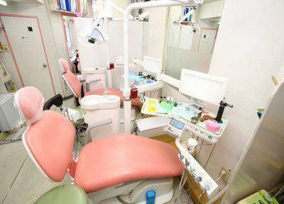 らいおん歯科医院 診療台