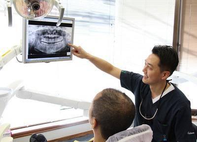 けやき歯科医院_カウンセリング風景