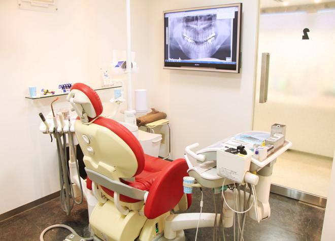 白金デンタルオフィス 診療台