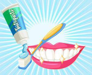 オーラルケアできれいな歯