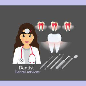 歯槽膿漏・歯科医師イメージ