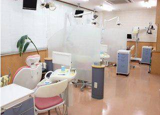 戸坂ホワイト歯科_診療室