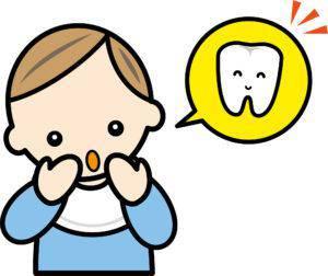 歯_ザラザラ_乳歯