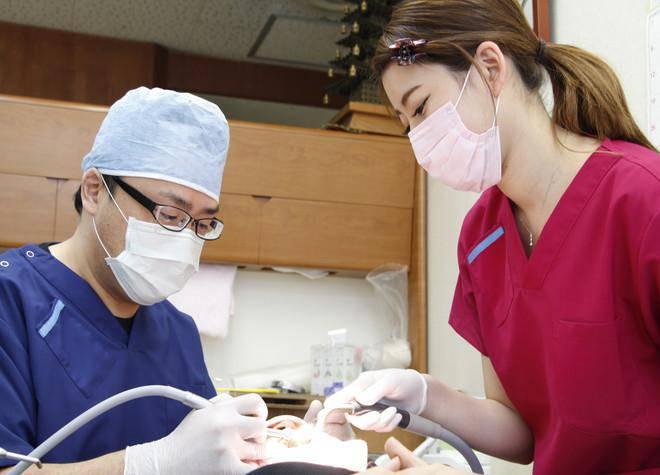 民上歯科診療所_治療風景
