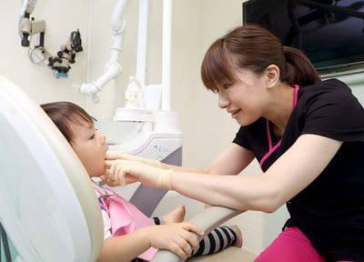 お子さんを尊重する小児歯科!