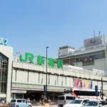 新宿駅土曜日