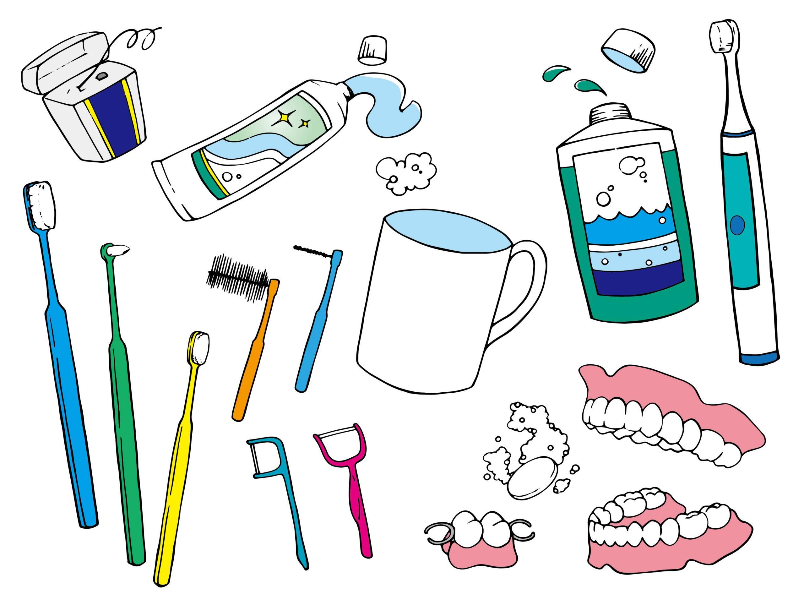 """歯周病の方必見!""""もふもふ""""の歯ブラシあります"""